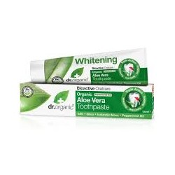 DR ORGANIC ALOE VERA TRIPLE ACTION TOOTHPASTE 100ML