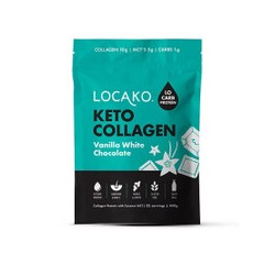 LOCAKO KETO COLLAGEN VANILLA WHITE CHOCOLATE 440G