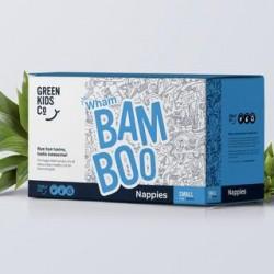 GREEN KIDS CO BAMBOO NAPPIES SMALL 4-8KG 80PK