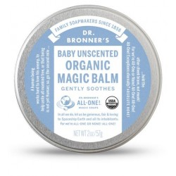 DR. BRONNER'S BABY UNSCENTED ORGANIC MAGIC BALM 57G