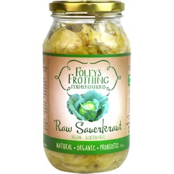FOLEYS FROTHING RAW SAUERKRAUT 500ML