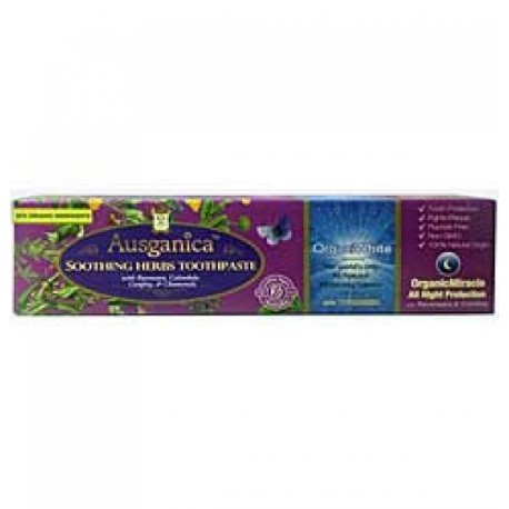 AUSGANICA SOOTHING NATURAL TOOTHPASTE 130G