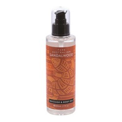 PURE AUSTRALIAN SANDALWOOD MASSAGE AND BODY OIL 200ML