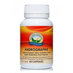 NATURE'S SUNSHINE ANDROGRAPHIS 60 CAPSULES