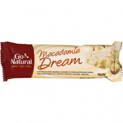 GO NATURAL MACADAMIA DREAM 50G