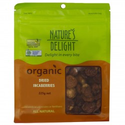 NATURES DELIGHT DRIED INCABERRIES 225G
