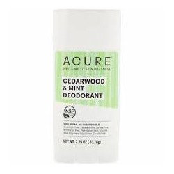 ACURE CEDARWOOD AND MINT DEODORANT 63.78G