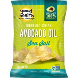 GOOD HEALTH AVOCADO OIL GOURMET POTATO CRISPS SEA SALT 141G