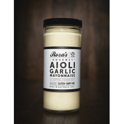 ROZAS GOURMET AIOLI GARLIC MAYONAISE 240ML REFRIGERATED