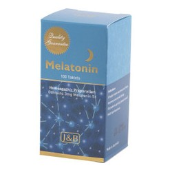 J AND B MELATONIN HOMEOPATHIC 3MG 100 TABLETS