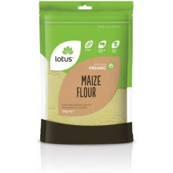 LOTUS ORGANIC MAIZE FLOUR 500G
