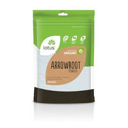 LOTUS ORGANIC ARROWROOT POWDER 250G