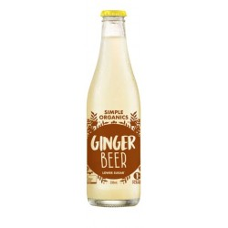 SIMPLE ORGANIC SODAS GINGER BEER 330ML