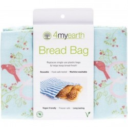 4MYEARTH BREAD BAG LOVE BIRDS