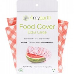 4MYEARTH EXTRA LARGE FOOD COVER GINGHAM