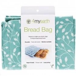 4MYEARTH BREAD BAG LEAF