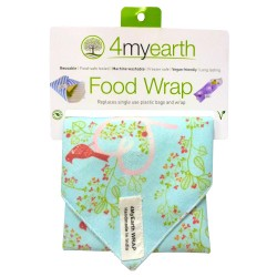 4MYEARTH FOOD WRAP LOVE BIRDS