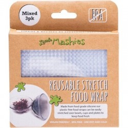 LITTLE MASHIES SILOCON FOOD WRAP 3 PACK