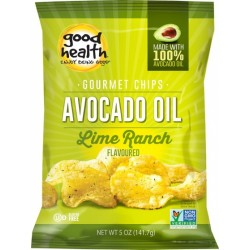 GOOD HEALTH AVOADO OIL CHIPS LIME RANCH 141G