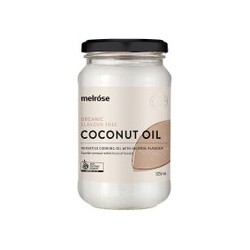 MELROSE FLAVOUR FREE COCONUT OIL 325ML
