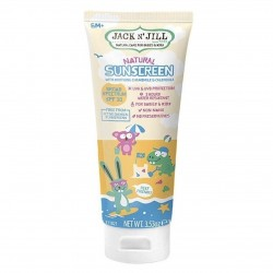 JACK AND JILL BABIES AND KIDS NATURAL SUNSCRREN SPF30 100G