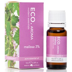 ECO AROMA MELISSA 3% ESSENTIAL OIL 10ML