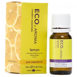 ECO AROMA LEMON PURE ESSENTIAL OIL 10ML