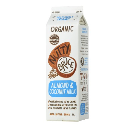 NUTTY BRUCE ALMOND COCONUT MILK 1L