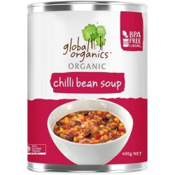 GLOBAL ORGANICS CHILLI BEAN SOUP 400G
