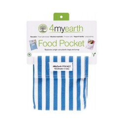 4MYEARTH FOOD POCKET STRIPE