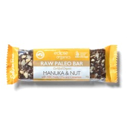ECLIPSE ORGANICS PALEO BAR MANUKA HEMP AND NUT 45G