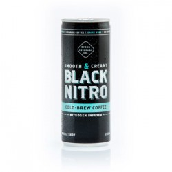 BYRON BAY BLACK NITRO COLD BREW COFFEE 250ML