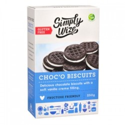 SIMPLY WIZE CHOC'O BISCUITS 250G