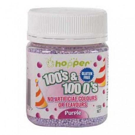 HOPPER 100'S & 1000'S PURPLE 150G