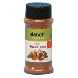 PLANET ORGANIC MIXED SPICE 50G