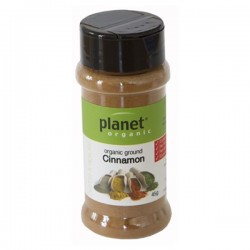 PLANET ORGANIC GROUND CINNAMON 45G