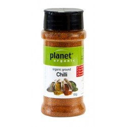 PLANET ORGANIC GROUND CHILLI 55G