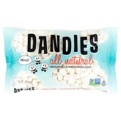 DANDIES VANILLA MINI MARSHMALLOWS 283G