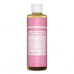 DR BRONNERS CHERRY BLOSSOM PURE-CASTILE SOAP 473ML