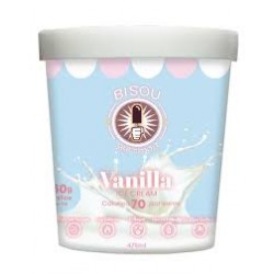 BISOU PROTEIN VANILLA ICE CREAM 475ML