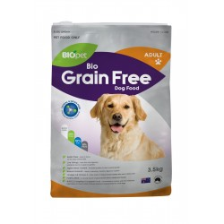 BIOPET BIO GRAIN FREE DOG FOOD ADULT 3.5KG