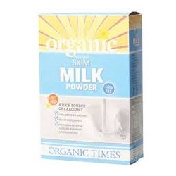 ORGANIC TIMES SKIM MILK POWDER 300G