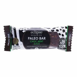 ECLIPSE ORGANICS PALEO BAR CHOC MINT SLICE 45G