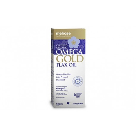 MELROSE OMEGA FLAX OIL 500ML