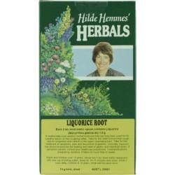 HILDE HEMMES HERBALS LIQUORICE ROOT 75G