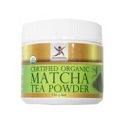 DR SUPERFOODS CERTIFIED ORGANIC MATCHA TEA POWDER 150G