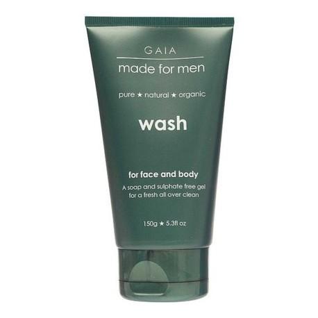 GAIA MADE FOR MEN FACE & BODY WASH 150ML