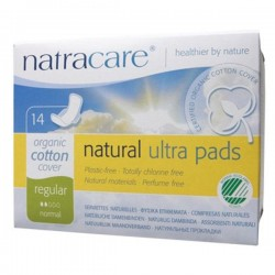 NATRA CARE REGULAR PADS 14PK