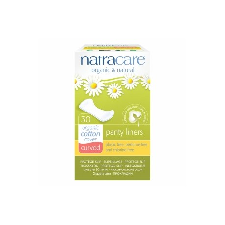 NATRACARE CURVED PANTY LINERS 30 PK