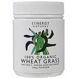 SYNERGY NATURAL ORGANIC WHEAT GRASS POWDER 200G